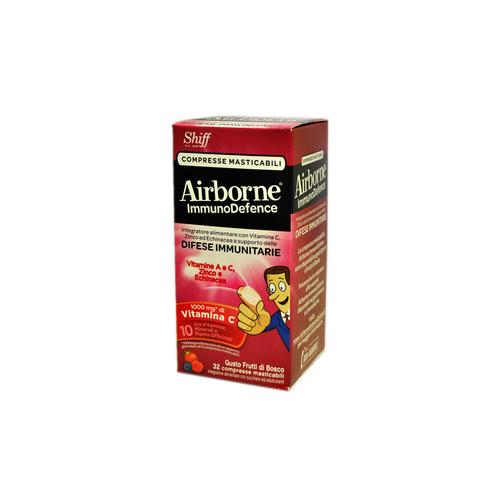Airborne Immunodefence Frutti Rossi| FarmaSimo - Vendita parafarmaci e cosmetici Farmacia Simoncelli.