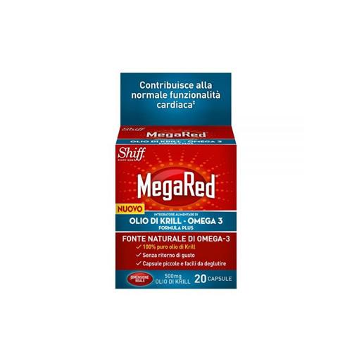 Megared 20 Capsule | FarmaSimo - Vendita parafarmaci e cosmetici Farmacia Simoncelli.