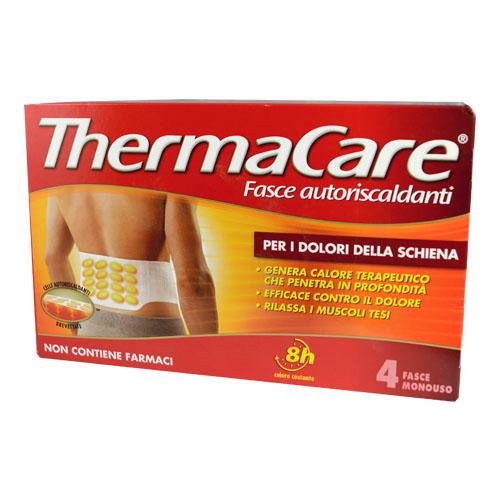 Thermacare Fasce Schiena 4pz| FarmaSimo - Vendita parafarmaci e cosmetici Farmacia Simoncelli.