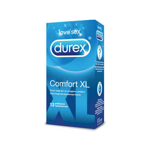 Durex Comfort XL 12 | FarmaSimo - Vendita parafarmaci e cosmetici Farmacia Simoncelli.
