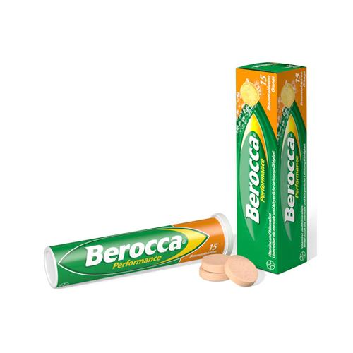 Berocca Pasticche Effervescenti | FarmaSimo - Vendita prodotti Bayer Farmacia Simoncelli.