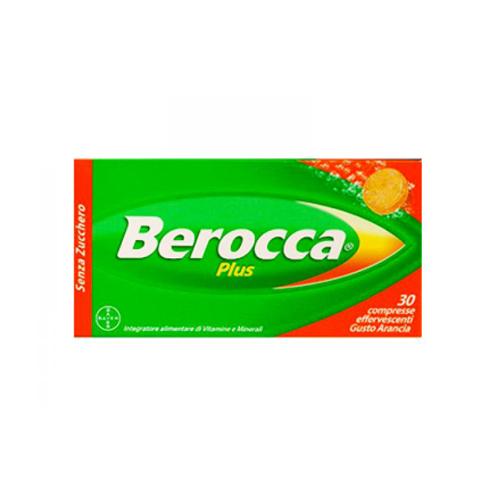 Berocca Compresse Effervescenti Plus | FarmaSimo - Vendita prodotti Bayer Farmacia Simoncelli.