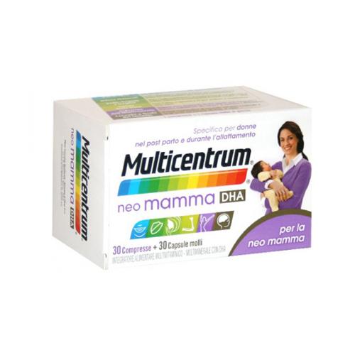 Multicentrum Neo Mamma DHA | FarmaSimo - Vendita prodotti Multicentrum Farmacia Simoncelli.