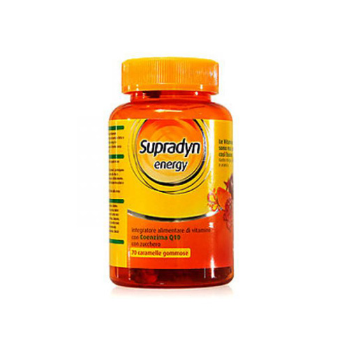 Supradyn Energy Caramelle | FarmaSimo - Vendita parafarmaci e cosmetici Farmacia Simoncelli.