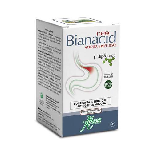 Bianacid Compresse Masticabili | FarmaSimo - Vendita prodotti Aboca Farmacia Simoncelli.