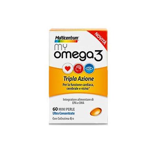 Omega 3 Tripla Azione | FarmaSimo - Vendita prodotti Multicentrum Farmacia Simoncelli.