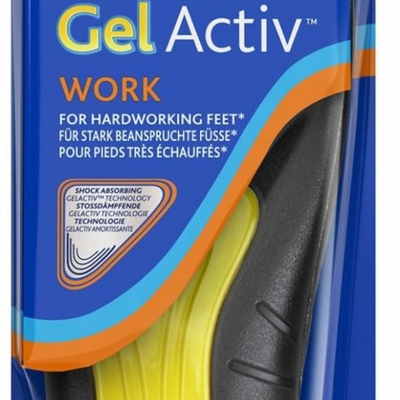 Scholl Gel Activ Work Donna Plantare un paio  86753b437b3