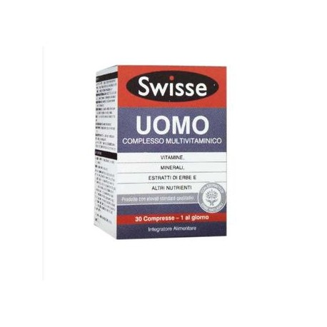 Swisse Multivitaminico Uomo | FarmaSimo - Vendita prodotti Swisse Farmacia Simoncelli.