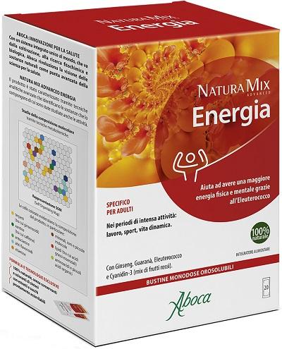 natura mix advance energia 20 bustine