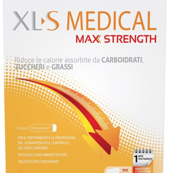 xls max strength 120 cps